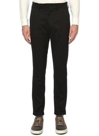 NetWork Erkek 1070511 Çizgili Jogger Pantolon Siyah